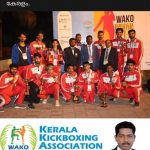 Kerala state team in WAKO International open Kickboxing Tournament